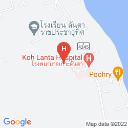 Karte SRILANTA RESORT