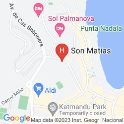 Karte ZAFIRO PALMANOVA