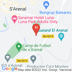Karte PALMA MAZAS