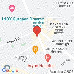 Karte OYO 14674 HOTEL RAJ MAHAL INN