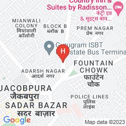 Karte OYO 1125 HOTEL CITY POINT