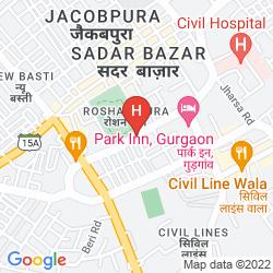Karte HOTEL JAS INN