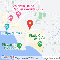Karte PALMIRA PARADISE