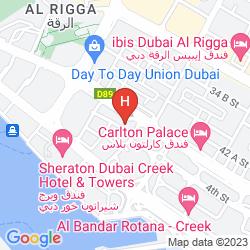 Karte AL KHALEEJ