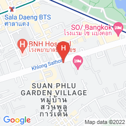 Karte COMO METROPOLITAN BANGKOK