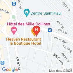 Karte HEAVEN RESTAURANT & BOUTIQUE HOTEL