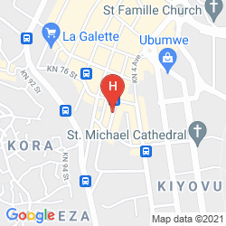 Karte LA POSH HOTEL
