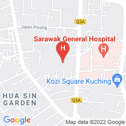 Karte PLACE2STAY @ GENERAL HOSPITAL