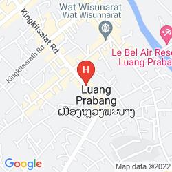 Karte VILLA MAHASOK HOTEL