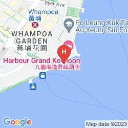 Karte HARBOUR GRAND KOWLOON