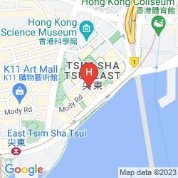 Karte THE ROYAL GARDEN HONG KONG