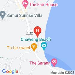 Karte NEW STAR BEACH RESORT