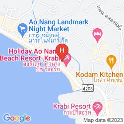 Karte AONANG BURI RESORT