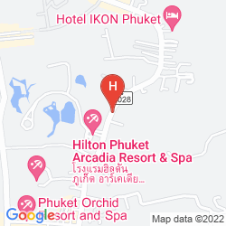 Karte CENTARA KARON RESORT