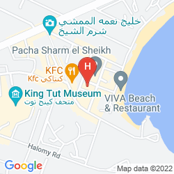 Karte CAMEL DIVE CLUB & HOTEL