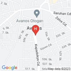 Karte ALTINYAZI