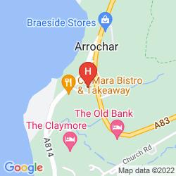Karte ARROCHAR