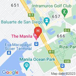 Karte MANILA
