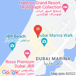 Karte THE RITZ CARLTON, DUBAI