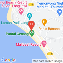 Karte CASA DEL MAR