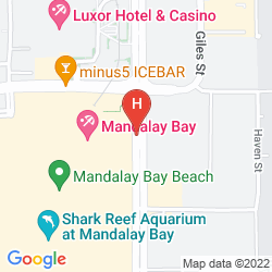Karte FOUR SEASONS HOTEL LAS VEGAS