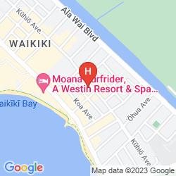 Karte AQUA BAMBOO WAIKIKI