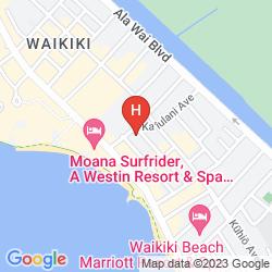Karte OHANA WAIKIKI EAST