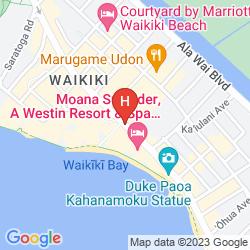 Karte OUTRIGGER WAIKIKI BEACH RESORT