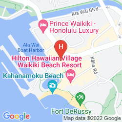 Karte ILIKAI HOTEL & LUXURY SUITES
