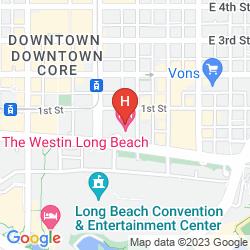 Karte THE WESTIN LONG BEACH