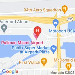 Karte PULLMAN MIAMI AIRPORT