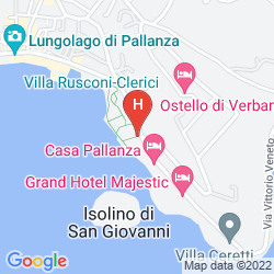 Karte GRAND HOTEL MAJESTIC