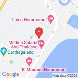 Karte LELLA BAYA & THALASSO