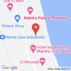 Karte NOUR PALACE RESORT & THALASSO