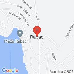 Karte POLLUX HOTEL