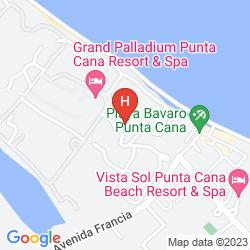 Karte GRAND PALLADIUM PALACE RESORT SPA & CASINO