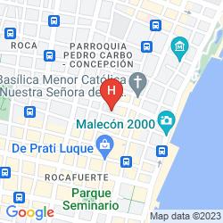 Karte LA FONTANA HOTEL