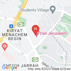 Karte DAN JERUSALEM