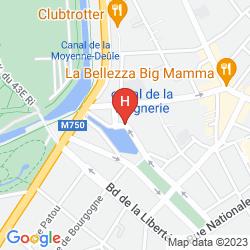 Karte COUVENT DES MINIMES DE LILLE