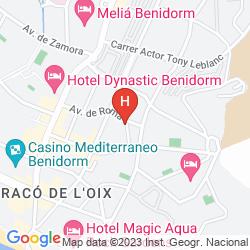 Karte APARTAMENTOS DON GREGORIO