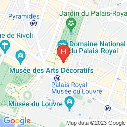 Karte GRAND HÔTEL DU PALAIS ROYAL