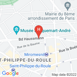 Karte ADAGIO PARIS HAUSSMANN