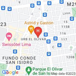 Karte PLAZA DEL BOSQUE