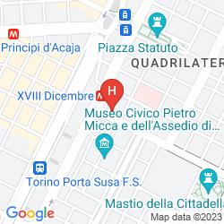 Karte BEST QUALITY HOTEL DOCK MILANO