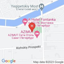 Karte AZIMUT
