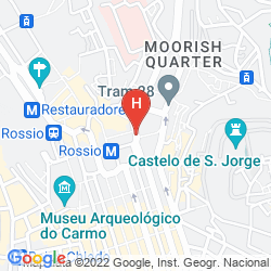 Karte HM MUNDIAL TIMELESS CITY HOTEL