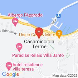 Karte CRISTALLO PALACE HOTEL TERME