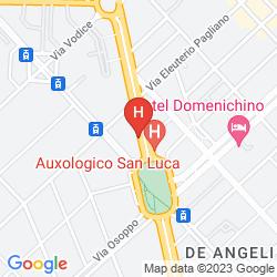 Karte HOTEL ASTORIA, SURE COLLECTION BY BEST WESTERN
