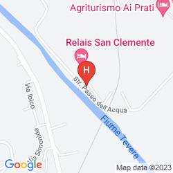 Karte RELAIS SAN CLEMENTE