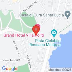 Karte GRAND HOTEL VILLA POLITI
